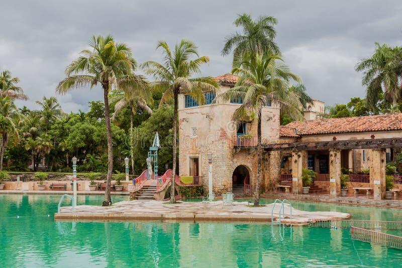 Weneckiego basenu Koralowi szczyty Floryda zdjęcie royalty free