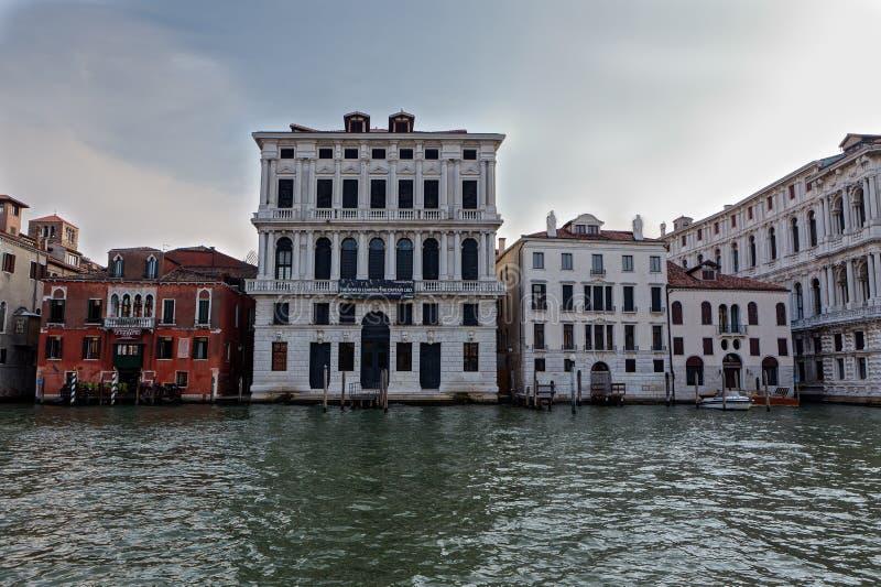Weneckiego palazzo Kanałowy Grande, Venezia, Italia zdjęcia royalty free
