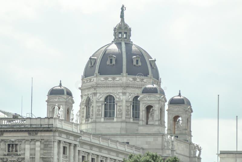 Wenen, Kunsthistorisches-Museum stock foto's