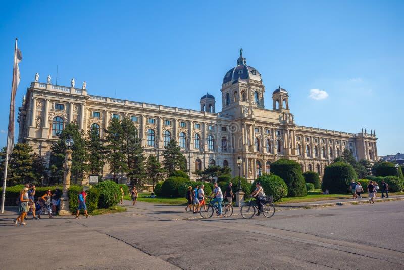 Wenen, Oostenrijk - 19 08 2018: Museum van Beeldende kunsten Kunsthistoris stock afbeeldingen