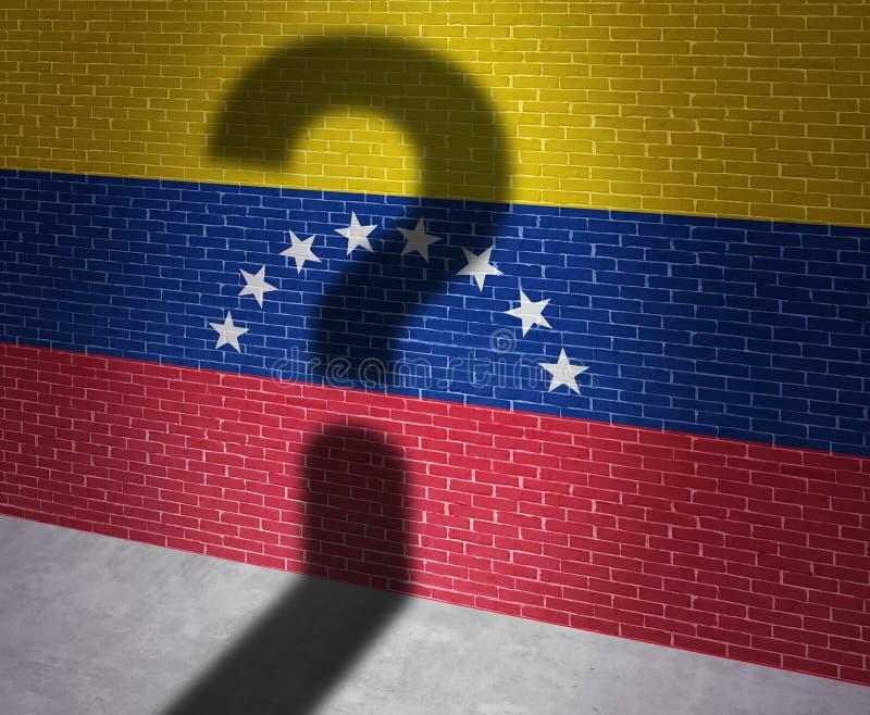 Wenezuela kryzys ilustracji