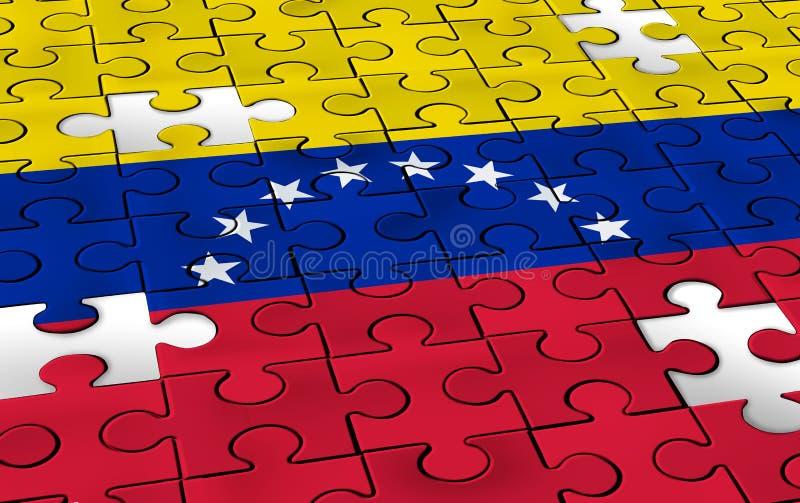 Wenezuela pojęcie ilustracja wektor