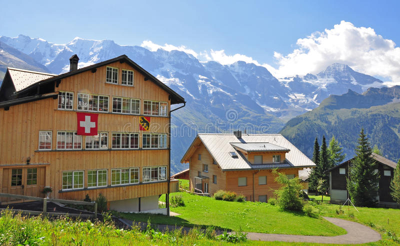 Wengen Royalty Free Stock Images