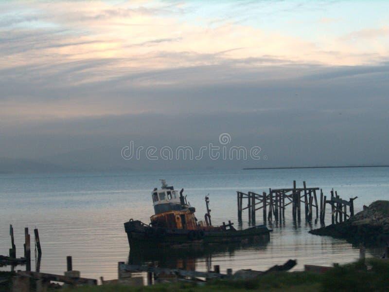 Wenig alter Tug Boat stockfoto