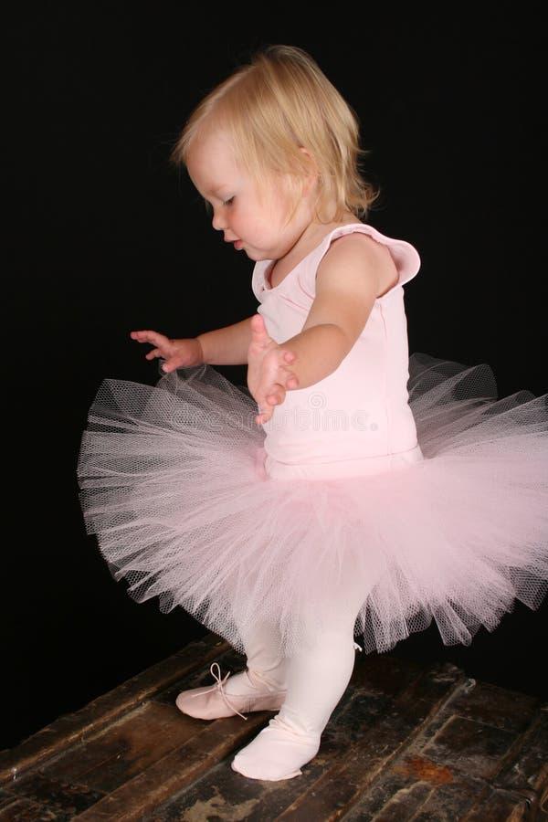 Wenig Ballettmädchen lizenzfreie stockfotografie