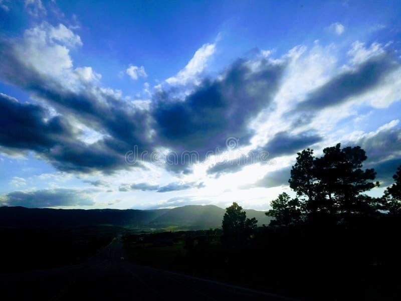 Wenig Blick von Mt evans lizenzfreie stockfotos