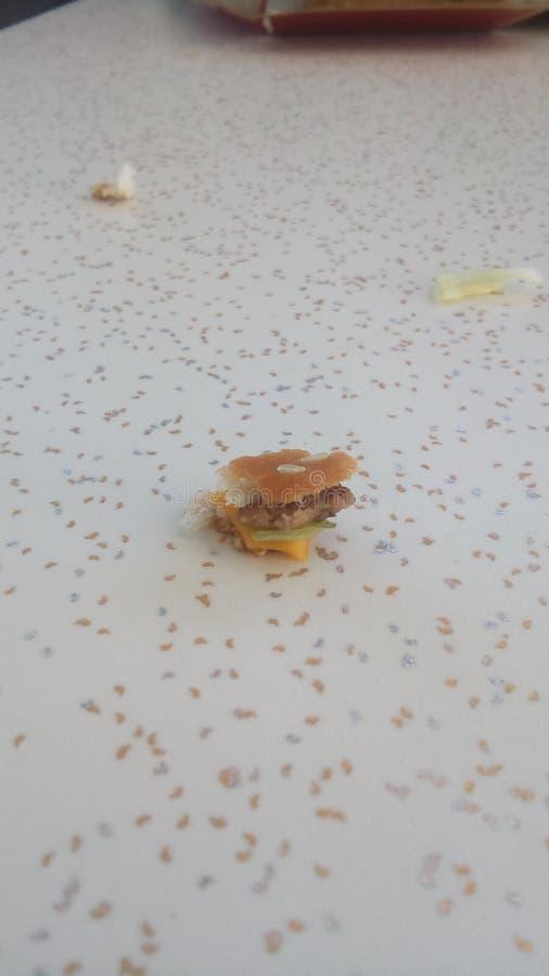 Wenig Burger stockfotos