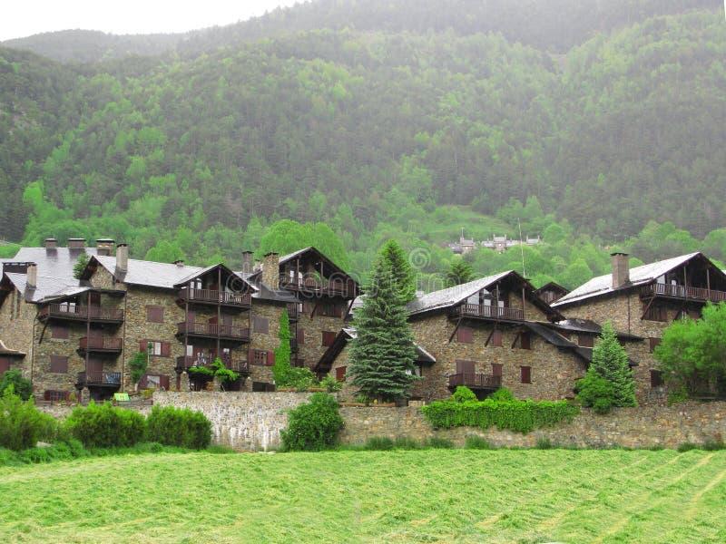 Wenig Dorf lizenzfreies stockbild