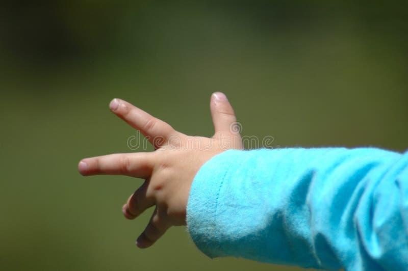 Wenig Hand stockbilder