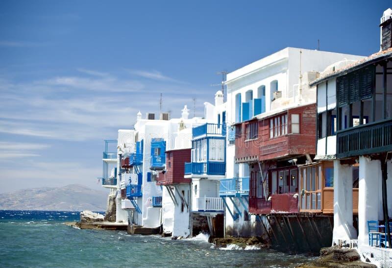 Wenig Italien in Griechenland lizenzfreie stockfotos