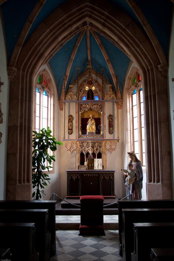 Wenig Kirche lizenzfreie stockfotos
