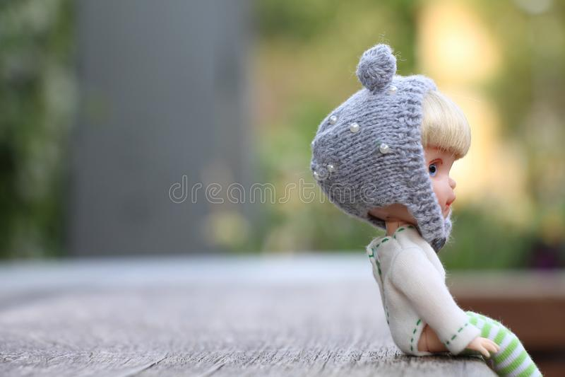 Wenig Puppen haben auch ein Herz lizenzfreie stockbilder