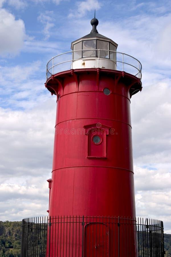 Download Wenig roter Leuchtturm stockbild. Bild von grenzstein, wenig - 174609