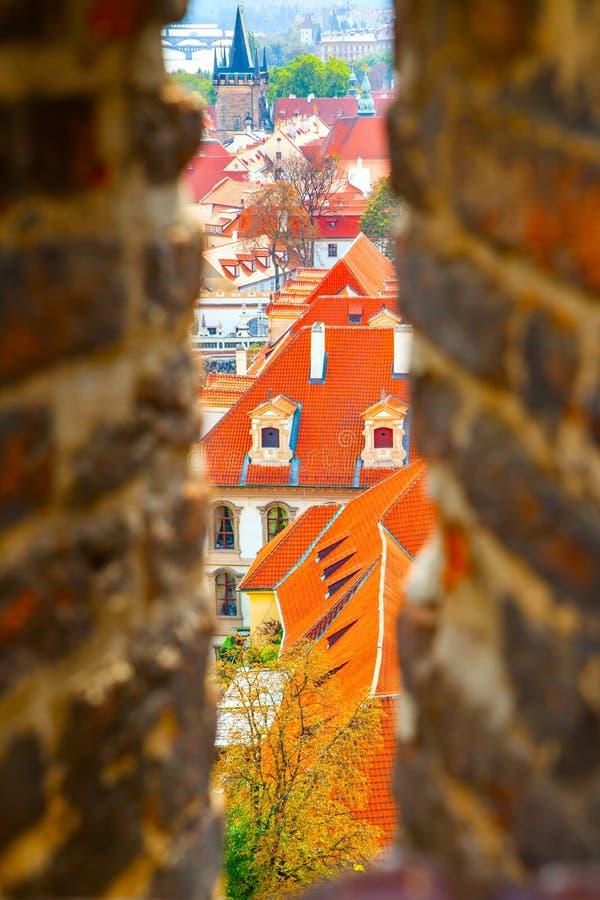 Wenig Stadt von Prag stockfotografie