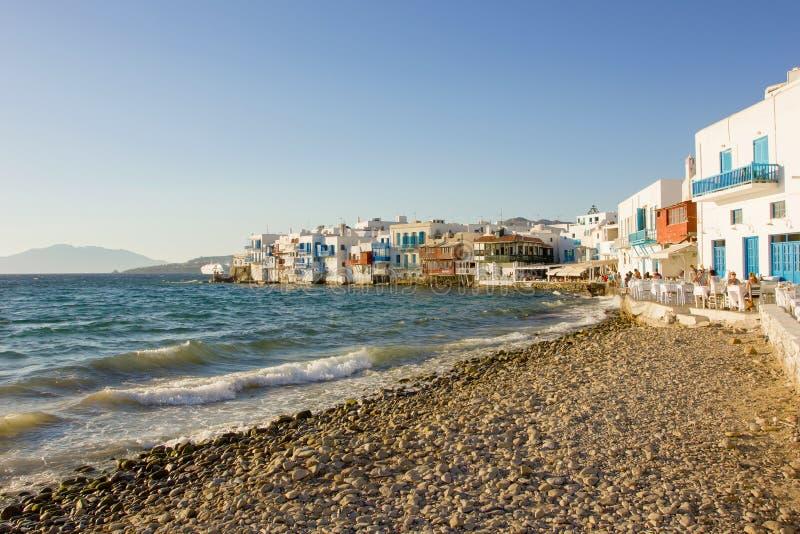Wenig Venedig in Mykonos lizenzfreie stockbilder