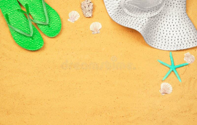 Wenige Sommereinzelteile lizenzfreie stockbilder