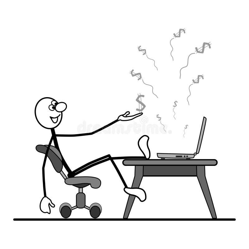 Download Wenn Sie Ein Fachmann Sind, Dann Ist Erfolg Yo Vektor Abbildung - Illustration von konzept, dollar: 26363058