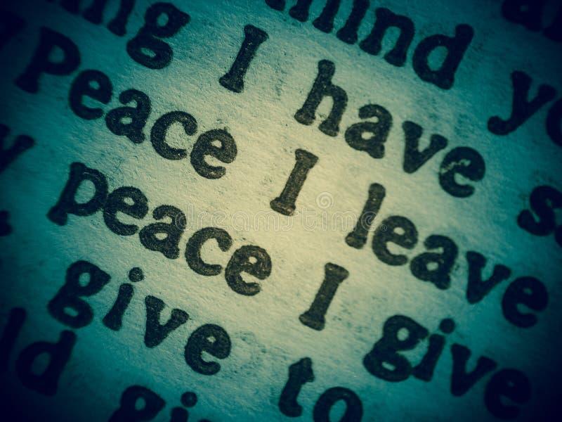 Wens van vrede stock afbeeldingen