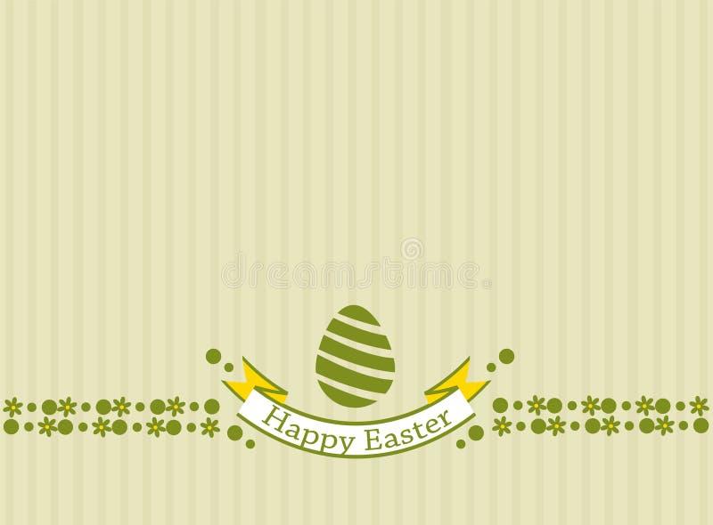 Wensend u een gelukkige Pasen royalty-vrije illustratie