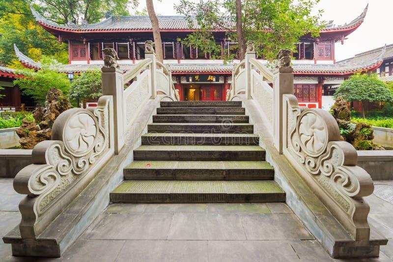 Wenshu-Kloster - Chengdu stockbilder