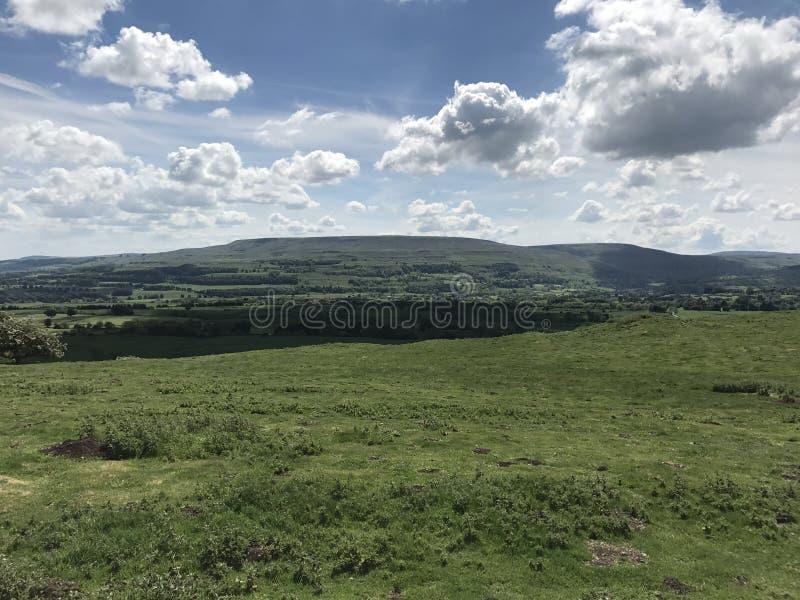 Wensleydale Йоркшир стоковое фото rf