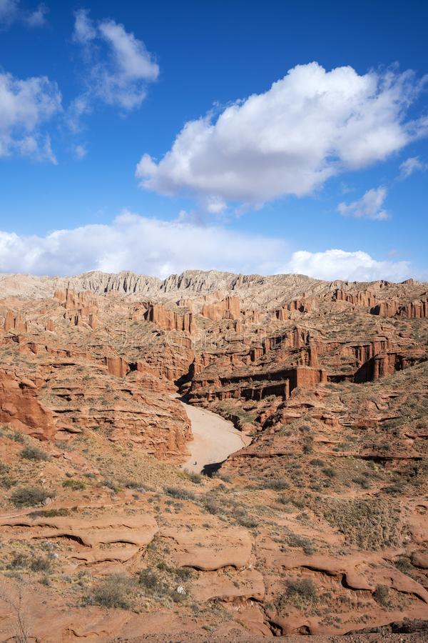 Wensu Grand Canyon im Herbst lizenzfreies stockbild