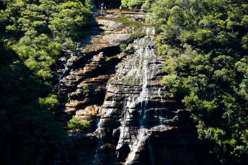 Wentworth Falls photo stock