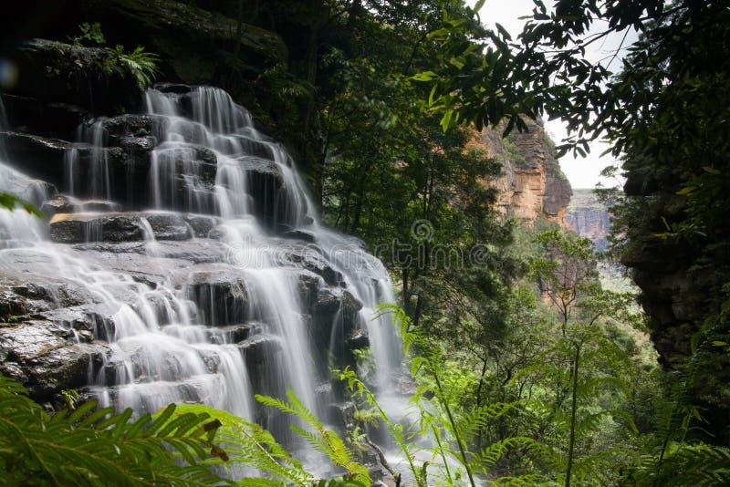 Wentworth Falls image libre de droits