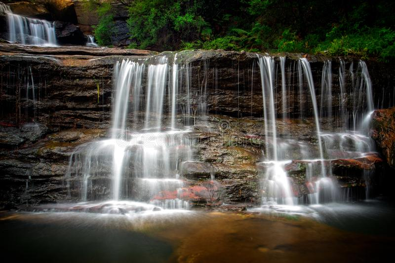 Wentworth Falls Australia immagine stock