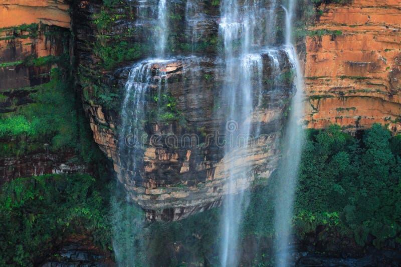 Wentworth Falls Ledge royaltyfria foton