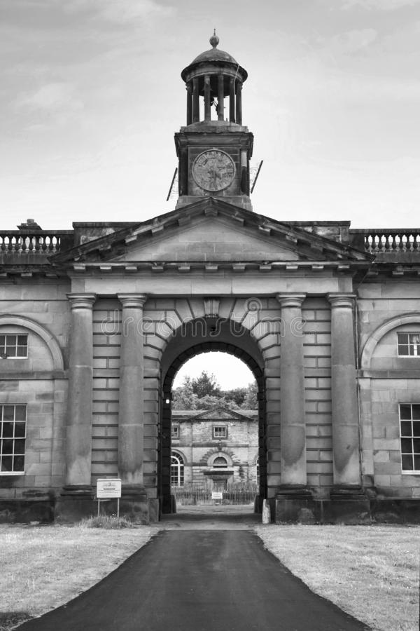 Free WENTWORTH, UK - June 1, 2018. Clock Tower From Wentworth Woodhouse Stately Home, Originally A Jacobean House Later Rebuilt. Stock Photography - 139176472