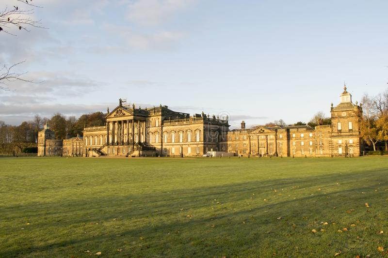Wentworth Woodhouse Stately Home 17 novembre 2017 fotografie stock libere da diritti