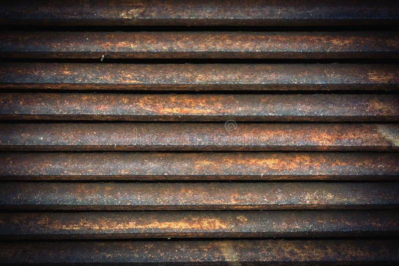 Wentylacja metalu greting fotografia stock
