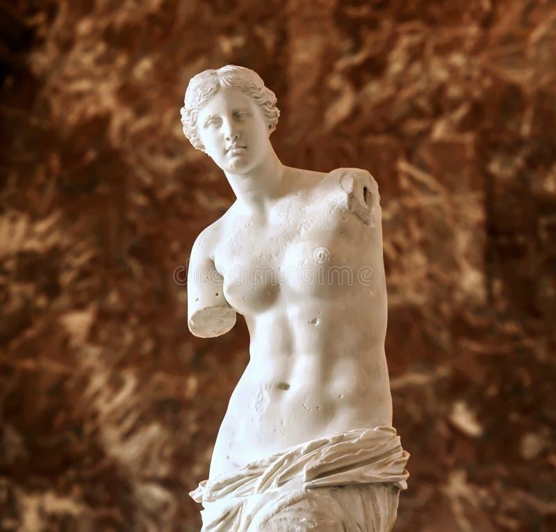 Wenus De Milo, Aphrodite zdjęcie stock