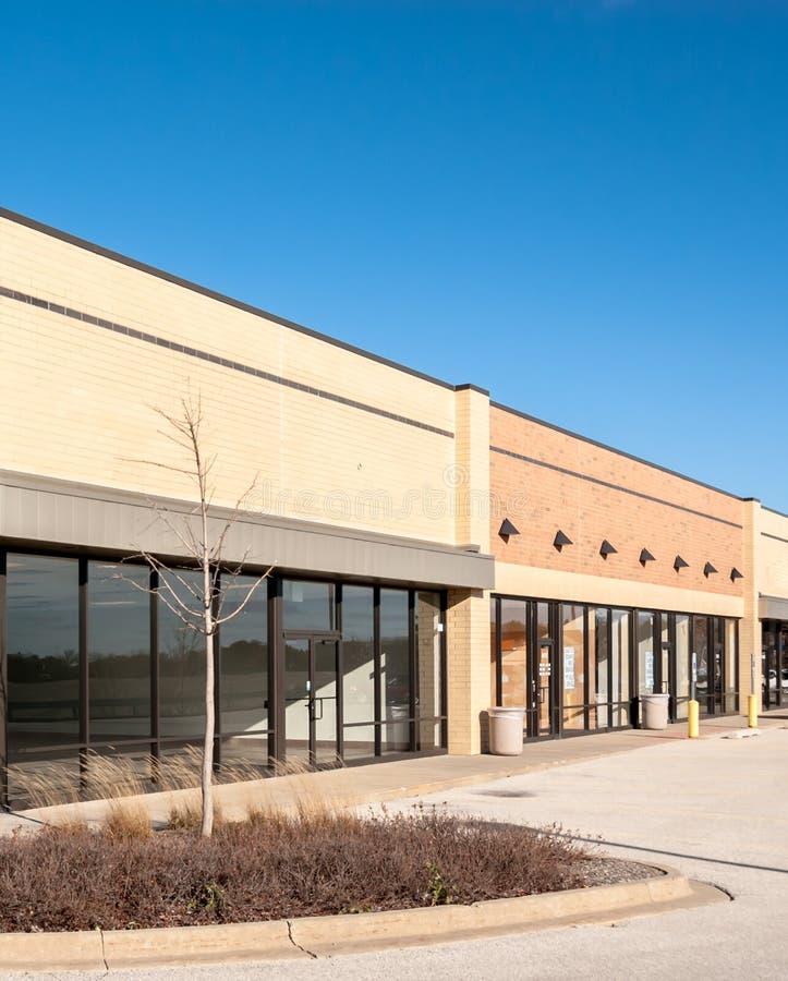 Werbung, Einzelhandel und Bürogebäude lizenzfreie stockfotos