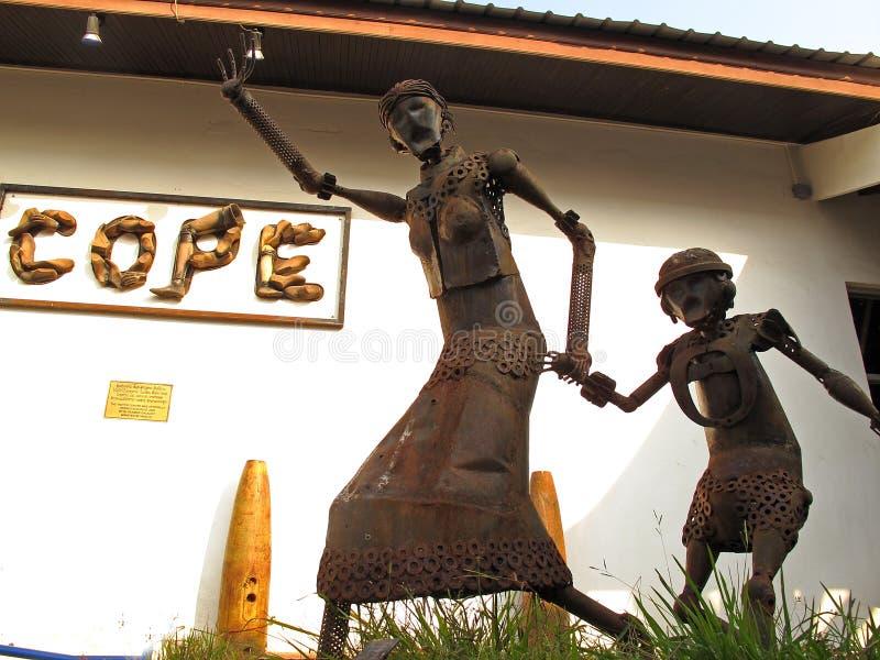 Werden Besucher-Mitte - Vientiane, Laos fertig lizenzfreies stockbild