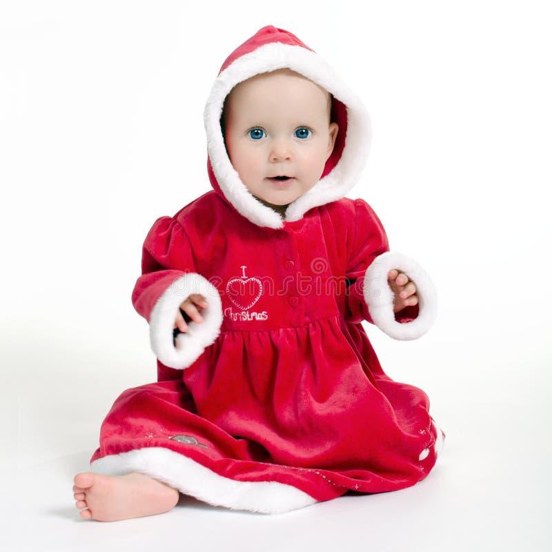 Werden fertig zum Weihnachten stockbilder