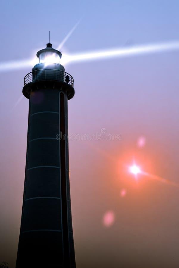 Werden Sie wie ein Leuchtturm hell stockfoto