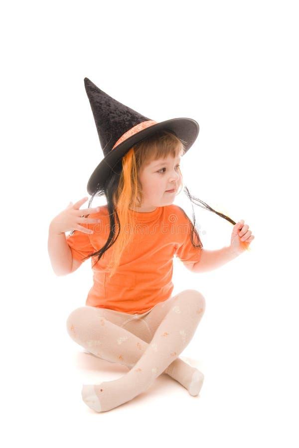 Werden Sie zu Halloween fertig stockfotografie