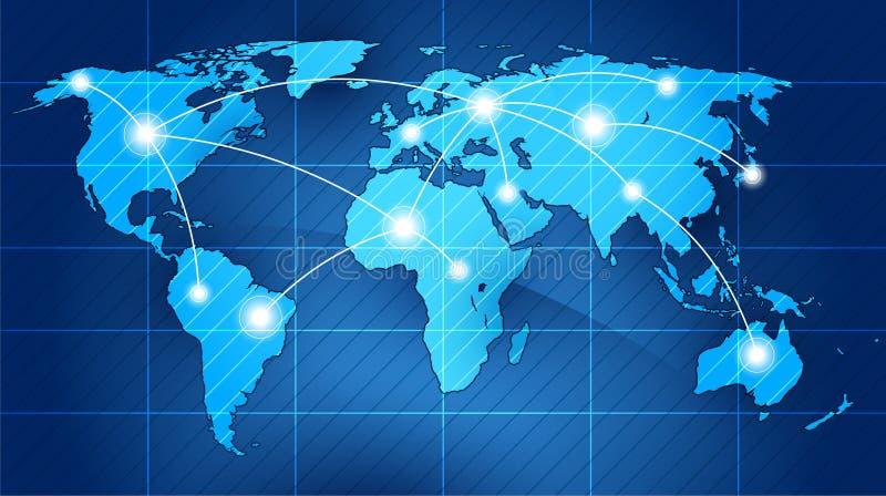 Wereld stock illustratie