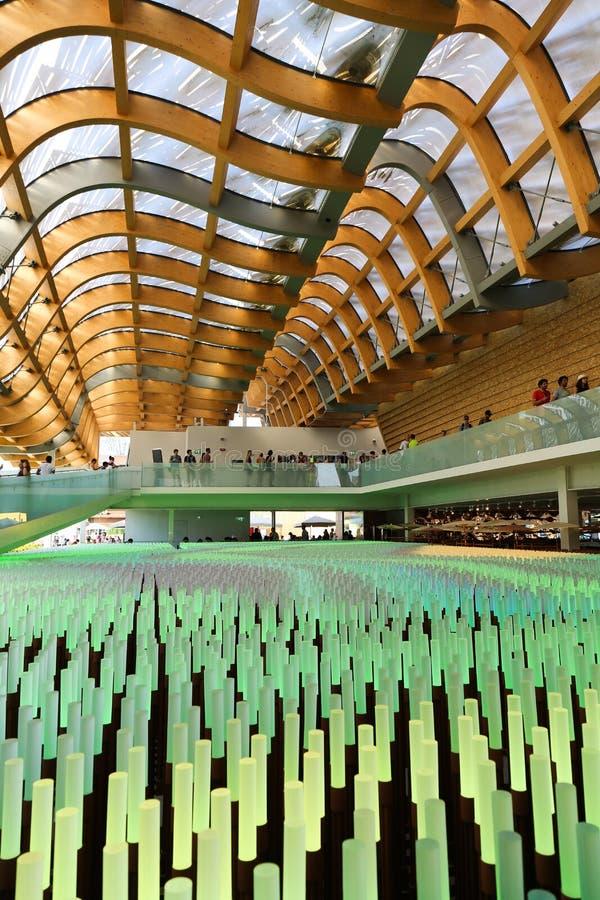 Wereld Expo Milaan stock fotografie