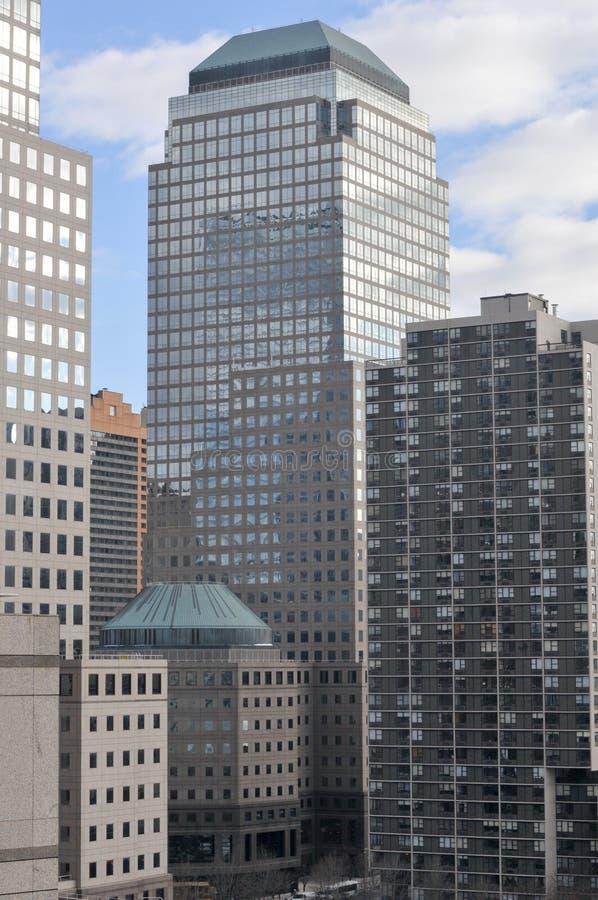 Wereld Financieel Centrum - de Stad van New York royalty-vrije stock foto's