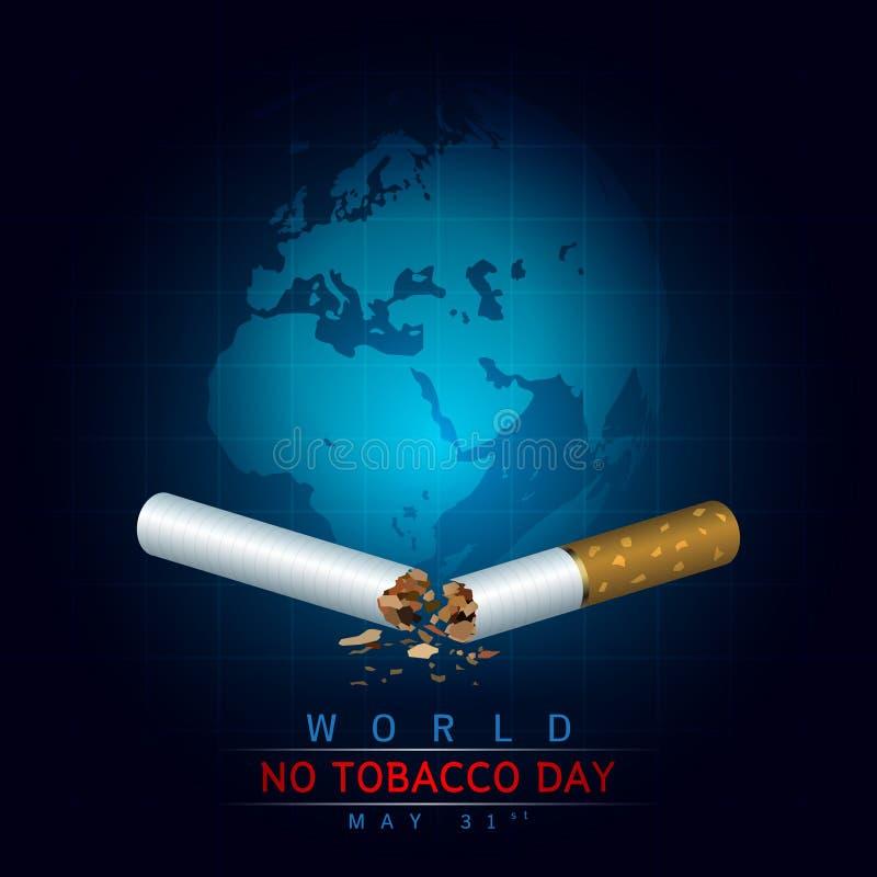 Download Wereld Geen Tabaksdag redactionele fotografie. Illustratie bestaande uit ontwerp - 54083617
