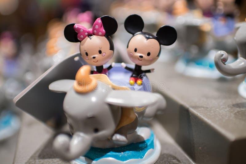 Wereld van Disney-opslag in Shanghai Disneyland in Shanghai, China royalty-vrije stock afbeeldingen