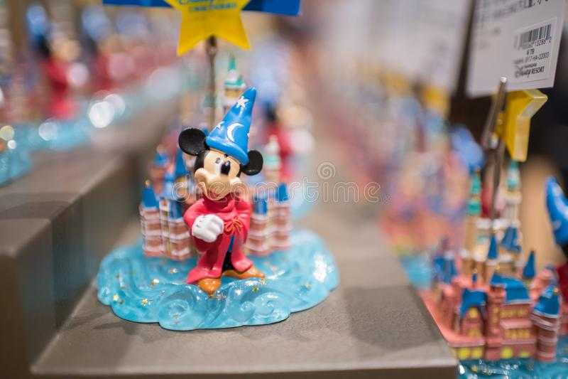 Wereld van Disney-opslag in Shanghai Disneyland in Shanghai, China stock afbeeldingen