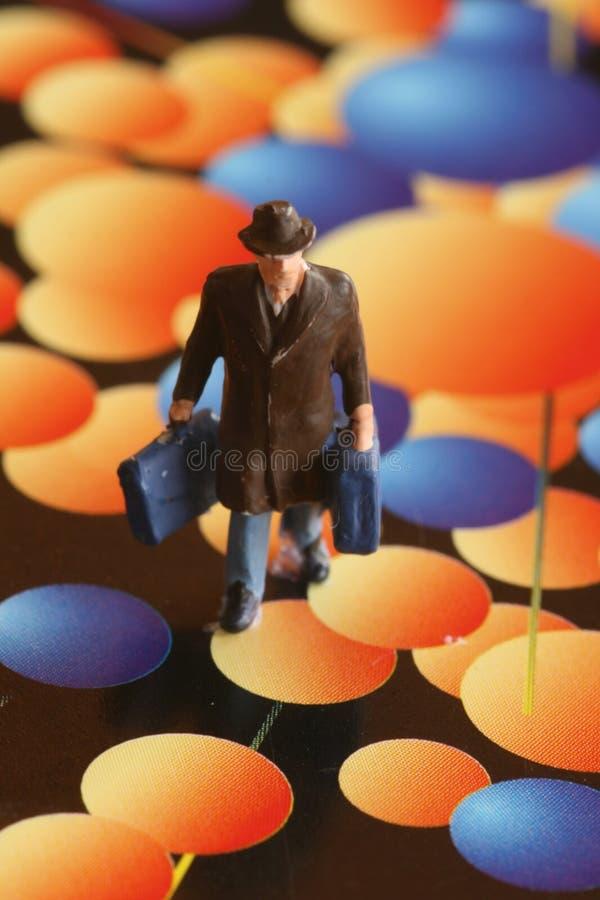Wereld van psychedelica stock foto's