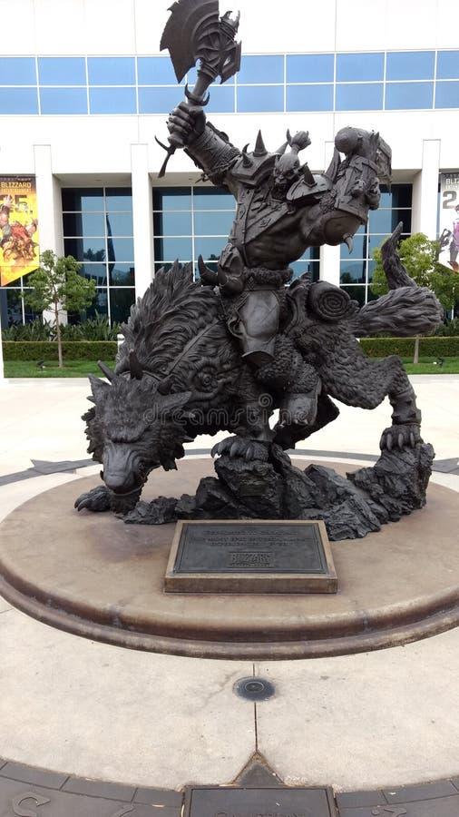 Wereld van Warcraft-Blizzard royalty-vrije stock afbeeldingen