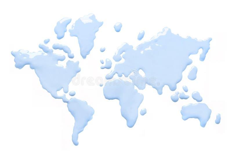 Wereld van water royalty-vrije stock fotografie