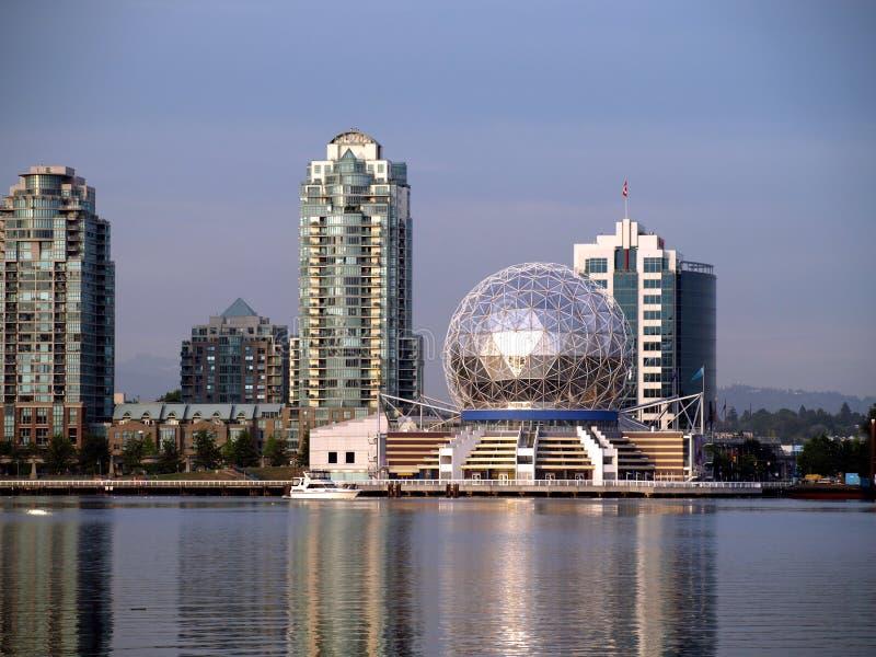Wereld van wetenschap in Vancouver stock foto's