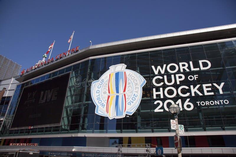 Wereldbeker hockey 2016 Toronto royalty-vrije stock afbeelding